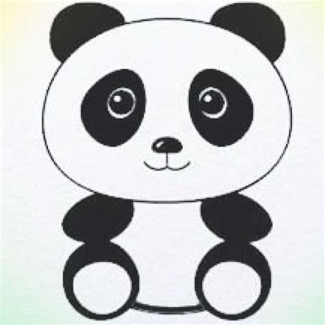 panda bear panda drawing panda painting cute panda drawing