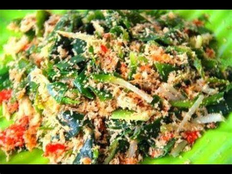 resep urap sayuran khas jawa youtube