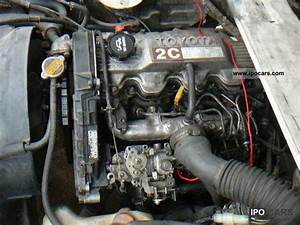 1988 Toyota Van Engine