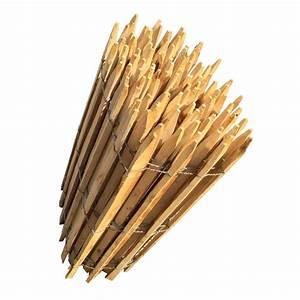 Piquet De Cloture Bois Acacia : ganivelle cl ture en bois de ch taignier sci acheter au ~ Dailycaller-alerts.com Idées de Décoration