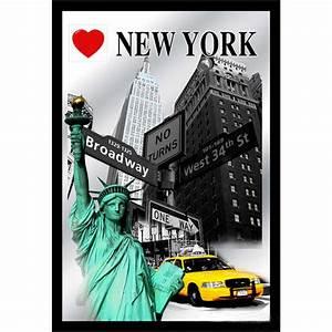 New York Deko : deko wandspiegel i love new york ca 22 x 32 cm us shop ~ One.caynefoto.club Haus und Dekorationen