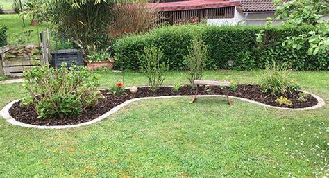 Randsteine Garten Ideen by Blumenbeete Anlegen Anregung Aus Meinem Garten