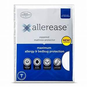 amazoncom allerease maximum allergy and bedbug With allerease bed bug mattress protector reviews