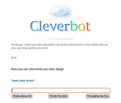 Chat With Evie Bot by 26 Cleverbot Conversations That Are Guaranteed To Make You