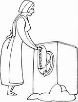 Vacuum Coloring Getdrawings Appliances sketch template