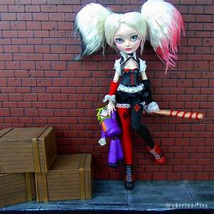 Custom OOAK Ever After High Doll QuotHarley Quinnquot By