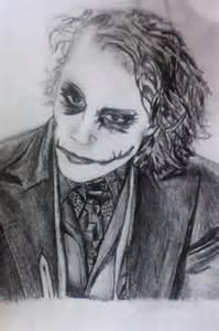 Joker Drawings Pencil Sketch