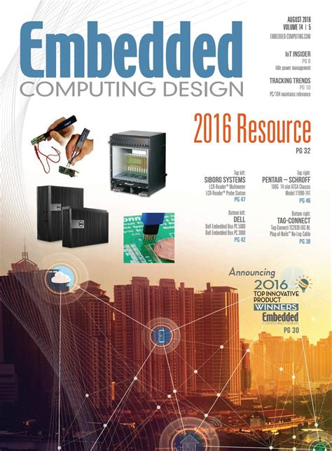embedded computing design embedded computing design august 2016 with resource guide