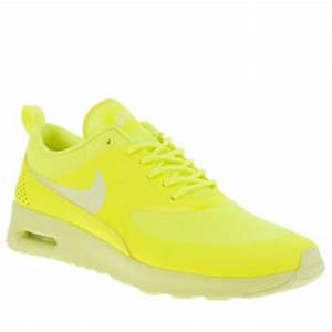 Womens Yellow Nike Air Max Thea Trainers
