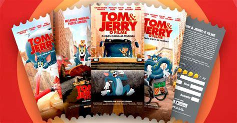 Cinemark lança ingressos colecionáveis de Tom & Jerry ...
