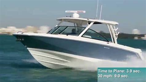 Boats Like Boston Whaler Vantage by Boston Whaler 320 Vantage Test 2015 By Boattest