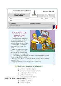 french vocab family images french class