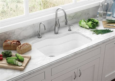 fireclay undermount kitchen sink fireclay sinks everything you need to know qualitybath