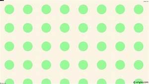 Wallpaper green spots polka dots white #fdf5e6 #98fb98 255 ...