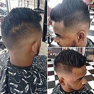 Medium Fade Haircut Black Men