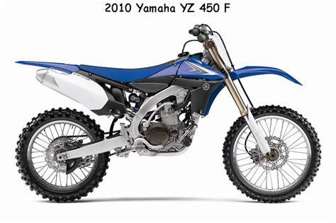 2010 yamaha yz 450 f moto zombdrive