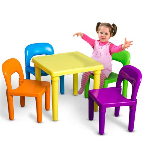 table and chairs play set toddler child activity