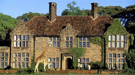 giraffe manor nairobi kenya travelmintcom