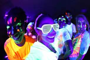 party rental companies glow runs