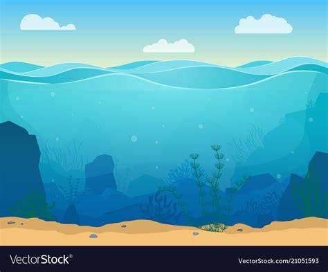 Cartoon Sea Backdrop