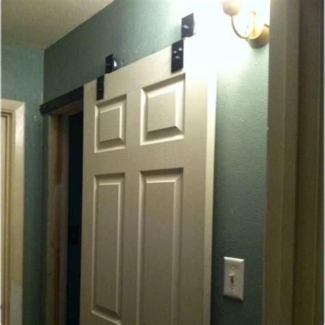 bathroom ideas barn style sliding door to the bathroom home dreams and