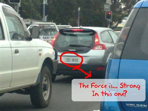 how much is a vanity plate help us obiwan you re our only for safe driving