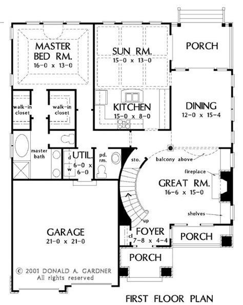 Two Story House Plans With Master On Ground Floor