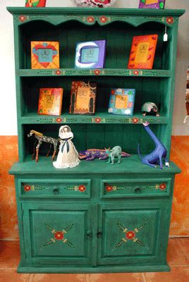 green kitchen cabinet imported  mexico mexican