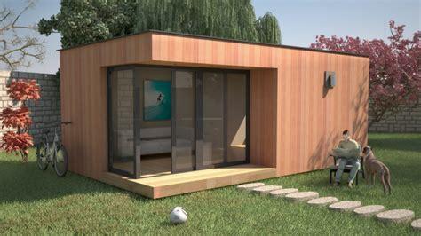 bureau de jardin en kit bureau de jardin à toit plat