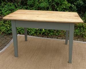 jolie petite table ancienne de cuisine de pecheur With table de cuisine ancienne en bois
