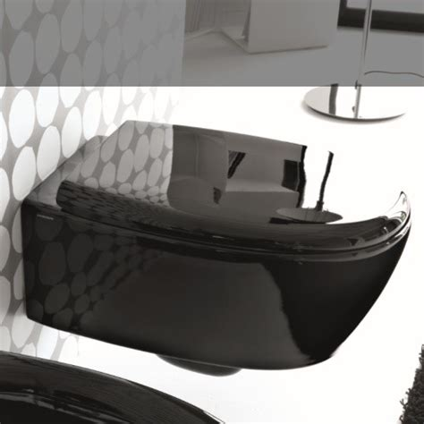 wand wc schwarz hidra ceramica wand wc mit wc sitz loft tiefsp 252 ler