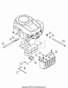 Mtd 13bx605g755  2007  Parts Diagram For Engine Accessories Single