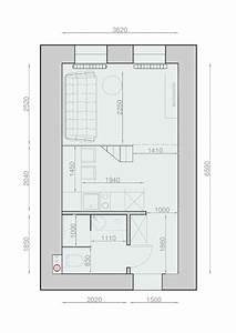 amenager un studio interieurs design de moins de 30m2 With plan d appartement 3d 7 cuisine lineaquattro en u