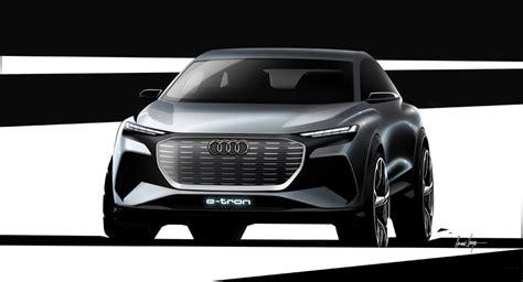 audi   tron concept  geneva motor show reveal