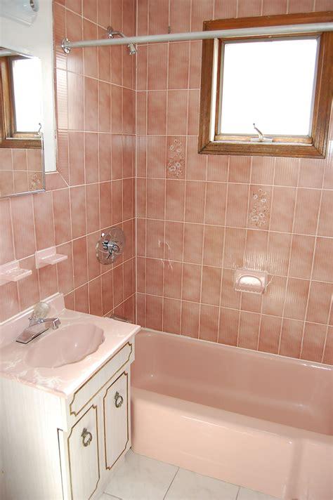 bathroom tile color ideas 40 vintage pink bathroom tile ideas and pictures