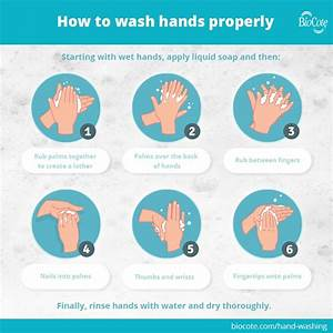 Guide  How To Wash Your Hands Properly