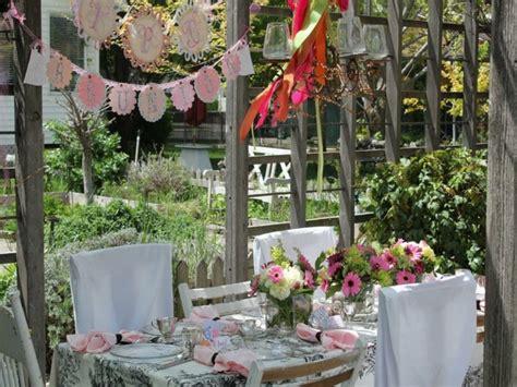 Garten Geburtstagsparty Deko by 22 Deko Gartenparty Ideen Was Darf Auf Einem Gartenfest