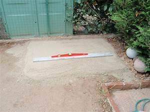 Terrasse Sur Sable : dalles sur lit de sable karkace ~ Melissatoandfro.com Idées de Décoration