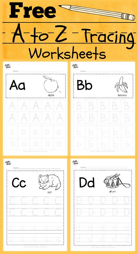 free alphabet tracing worksheets for letter a to 350 | 62071b80c97f7726f235af54a14f1bcf