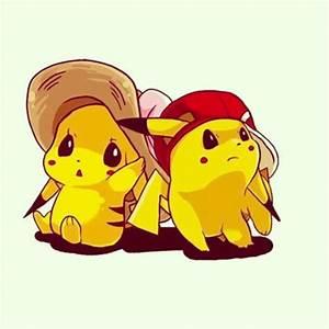 Pikachu Pokemon Cute Couples | Cartoon | Pinterest | Cute ...
