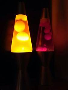 Mega size lava lamp Clear liquid red wax red base