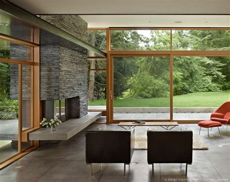 Modern Home Design Nc by Mid Century Modern Home With A Nature Backdrop
