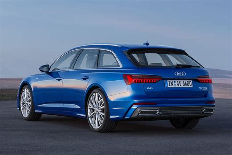New Audi A6 Avant Revealed  Pictures  Auto Express