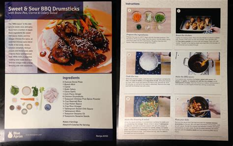 blue apron november  delivery review  fat