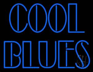 Cool Blues Neon Sign
