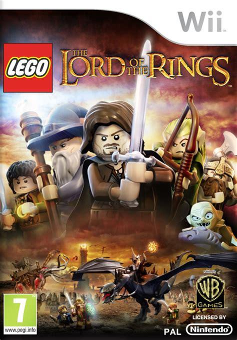 lego lord   rings nintendo wii zavvi