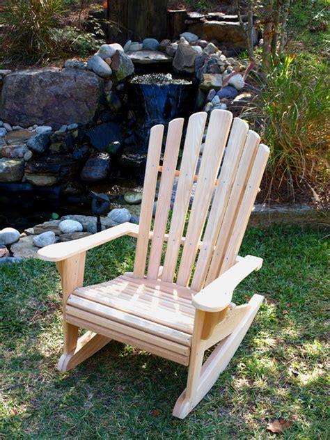 cypress adirondack rocker outdoor rocking chairs