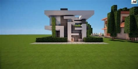 modern house tutorial minecraft building