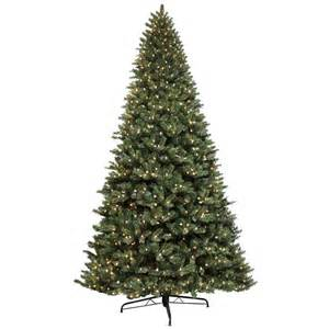 12ft green artificial pine tree 1500 lights commercial christmas display