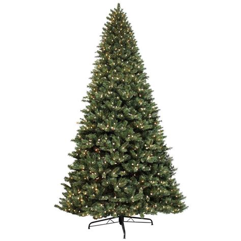12ft green artificial pine tree 1500 lights commercial